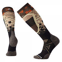Носки мужские Smartwool - PhD Ski Medium Pattern Black, р.L (SW 01330.001-L)