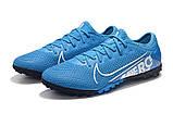 Сороконожки Nike Mercurial Vapor XIII Pro TF blue, фото 4
