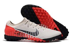 Сороконожки Nike Mercurial Vapor XIII Pro Neymar TF white/red