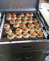 Фритюрница для пончиков ESBack с кассетами и растойкой