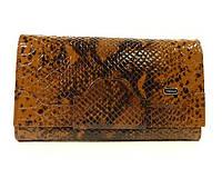 Кошелек кожаный женский коричневый лаковый Desisan 128-409, фото 1