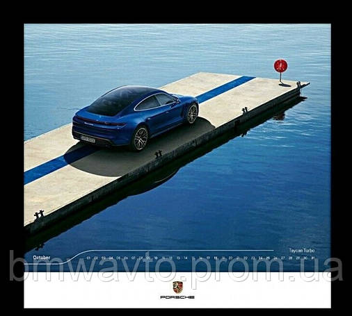 Календарь Porsche Calendar 2020 - Spectrum, фото 2