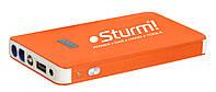 Пуско-зарядное устройство 8000 мА*ч + Power Bank + LED фонарь Sturm BC1208