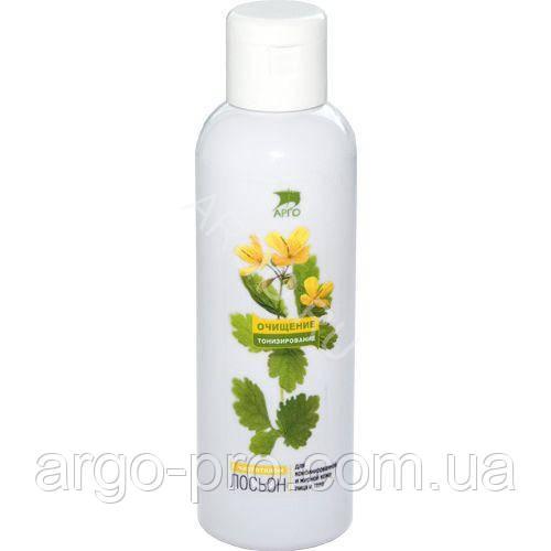 Лосьон тоник противовоспалительный для жирной и комбинированной кожи Арго (матирует, прыщи, стягивает поры)