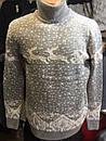 . Тёплый свитер хомут олени производства Турции. Состав 70шерсть/30акрил. Размеры с/м, л/хл, фото 4