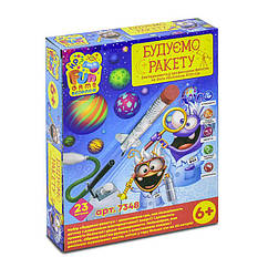 Детская настольная игра FUN GAME Строим ракету (7348)