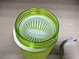 Бутылка спортивная для воды с поилкой Zan.N 500 мл., фото 3
