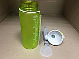 Бутылка спортивная для воды с поилкой Zan.N 500 мл., фото 5