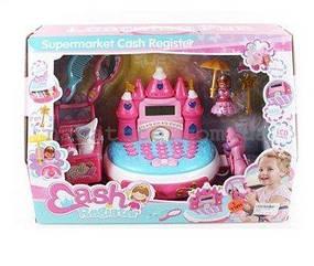Детский игрушечный кассовый аппарат с аксессуарами (35568)