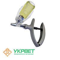 Ветеринарный шприц ECO-MATIC 2 мл. с держателем флакона