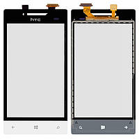 Сенсорный экран (touchscreen) для HTC Windows Phone 8S A620e, белый, оригинал