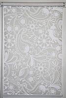 Готовые рулонные шторы 350*1500 Ткань Ассоль (Квиты 3050)