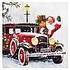 Салфетка Санта в машине 2-7325