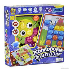 Детская мозаика FUN GAME платформа с рисунками (7033) 46 элементов