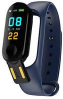 Фитнес браслет Smart Band M3+ Blue