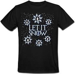Футболка Game Of Thrones - Let It Snow (чёрная)