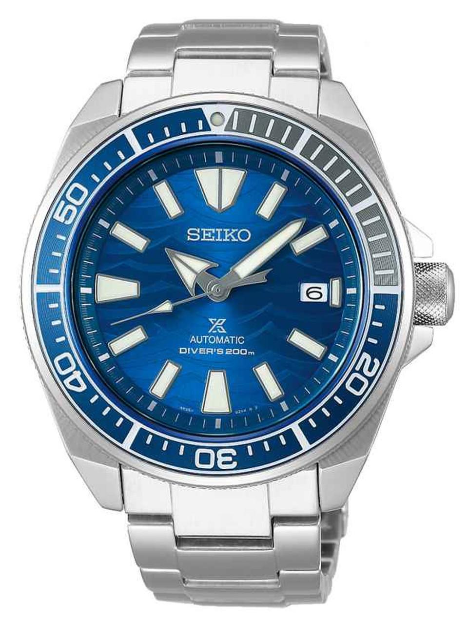 Часы Seiko Prospex Samurai SRPD23K1 Automatic Diver's 4R35 Save The Ocean