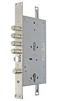 Основной врезной замок 3-х направленного запирания под два цилиндра Mul-T-Lock СFМ3