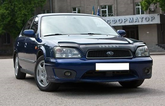 Дефлектор капота (мухобойка) Subaru Legacy/Outback 1998-2003