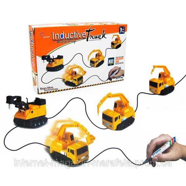 Детская игрушка Индукционная машинка Inductive Truck