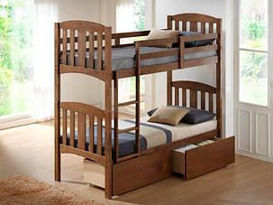 Кровать Мальвина двухъярусная цвет Рустикаль  (Domini TM), фото 2