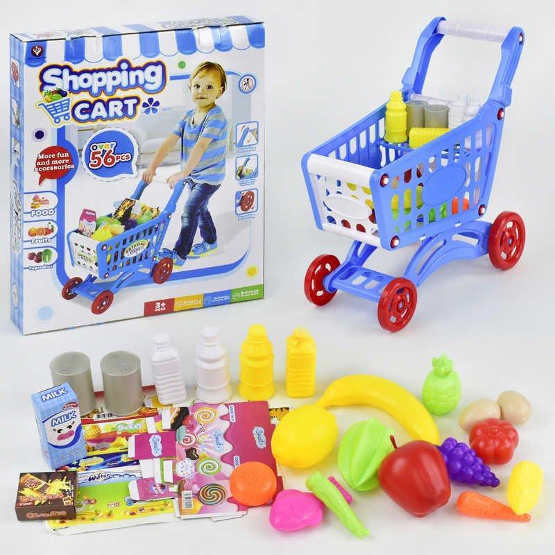 Дитячий іграшковий Візок з продуктами (922-10)