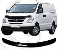 Дефлектор капота  Hyundai H-1 с 2007, Мухобойка Hyundai H-1