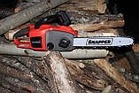 Мощная аккумуляторная цепная пила Snapper CS58V 58V, 2кВт, комплект с ЗУ и АКБ  2,6 Ач, фото 7