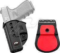 Кобура Fobus для Glock 17/19 с поясным фиксатором (ДЛЯ ЛЕВШИ)