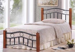 Кровать Берта односпальная каштан, фото 2