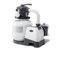 Пісочний фільтр насос Intex 26646, 6 000 л\год, 23 кг, New 2019