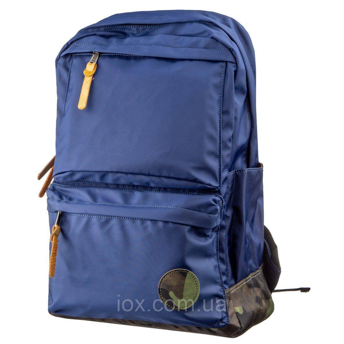 Рюкзак нейлоновый Vintage 14821 Синий, Синий, фото 1