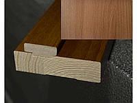 Планка коробкі дерев екошп 100*32 Вільха 3D (Стоєва) ob103994 ТМНОВИЙ СТИЛЬ