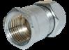 8106105 Comisa переходник (ХРОМ) зажимной 15х1/2 В
