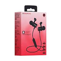 Беспроводные Bluetooth наушники Borofone BE20 / спортивные  Bluetooth наушники / блютуз стерео гарнитура (2_007987)