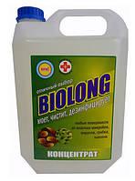 Дезинфицирующее средство без хлора БиоЛонг, концентрат 100%, 5л