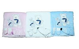 Одеяло - конверт для мальчика и девочки. Babyline 9507