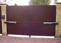 Распашные ворота 4000х2000