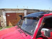 Дефлектор лобового стекла для Mitsubishi Pagero Wagon с 1990-2000 (козырек) Lasscar 1LS 030 920-172