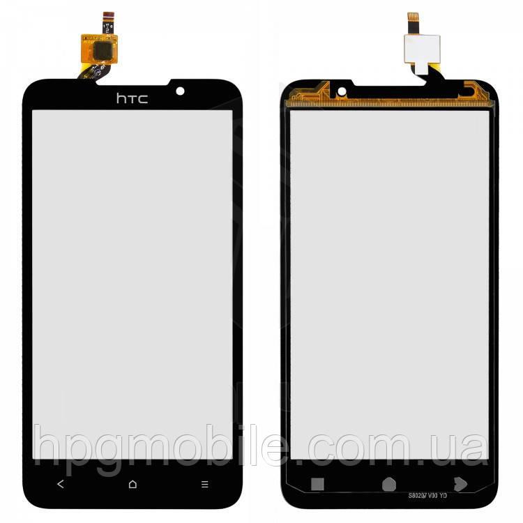 Сенсорный экран для HTC Desire 516 Dual Sim, черный, оригинал