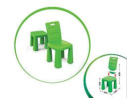 Стілець-табурет дитячий 04690   60 * 30 * 30 см   Зеленого кольору