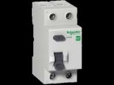 Двухполюсный дифференциальный выключатель нагрузки 63А АС 100 мА
