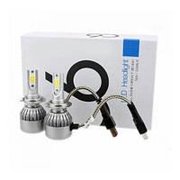 Автомобильные светодиодные LED COB лампы RIAS C6 H7 36W 6500К (2_007603)