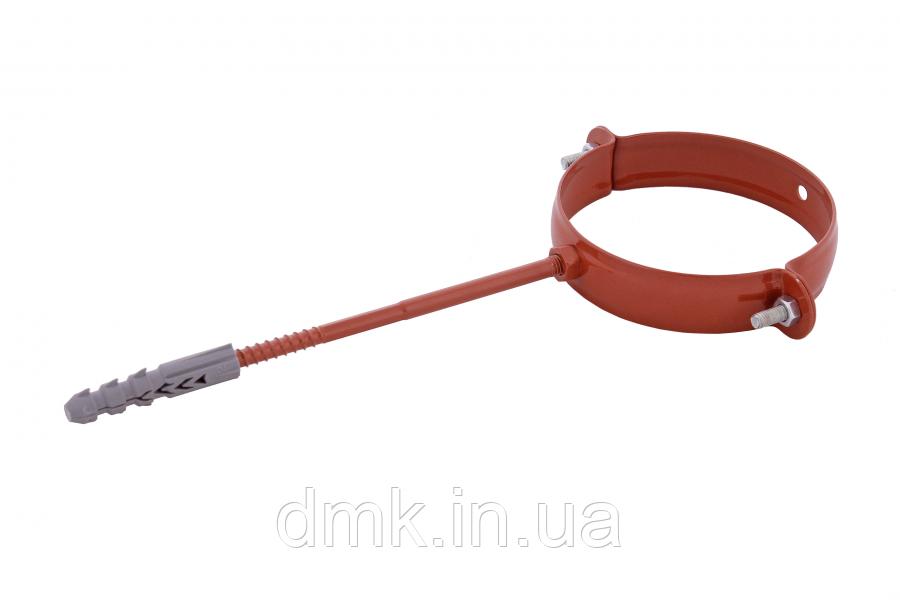 Держак труби Profil метал. L100 130 цегляний