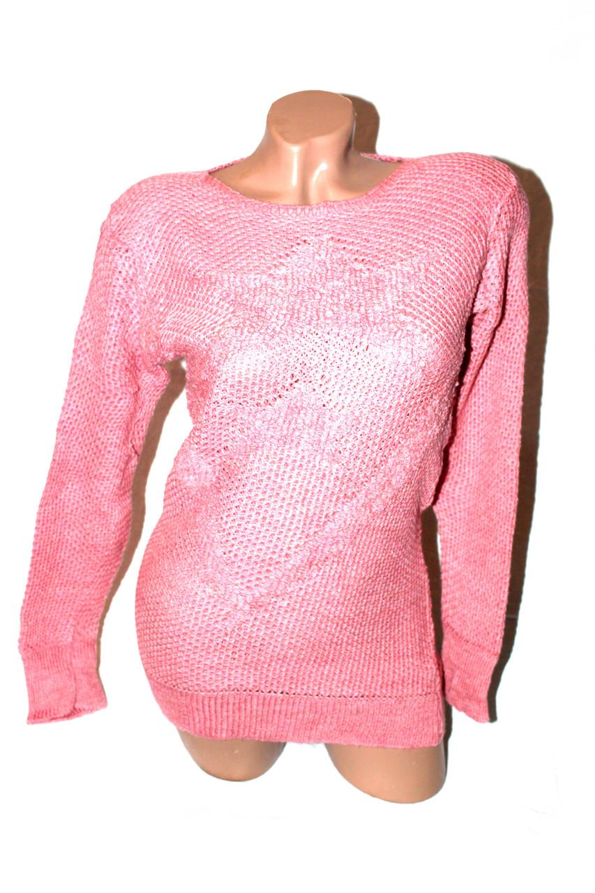 Светр жіночий рожевий