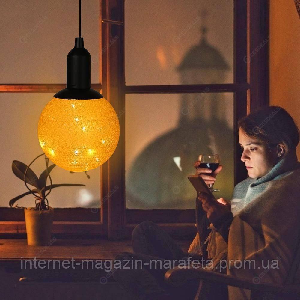 Новогодняя LED лампа led cotton ball lamp