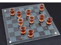Алкогольна гра шашки - чарки №085м (40х40см) (2_006914)