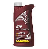 Трансмиссионное масло MANNOL ATF Multivehicle 1л.