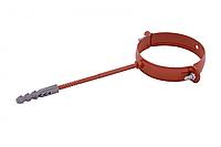 Держак труби Profil метал. L100 90 цегляний