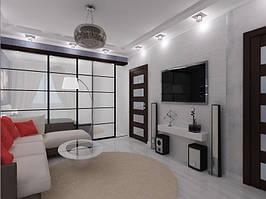 Дизайн двухкомнатной квартиры (90 м²) 1
